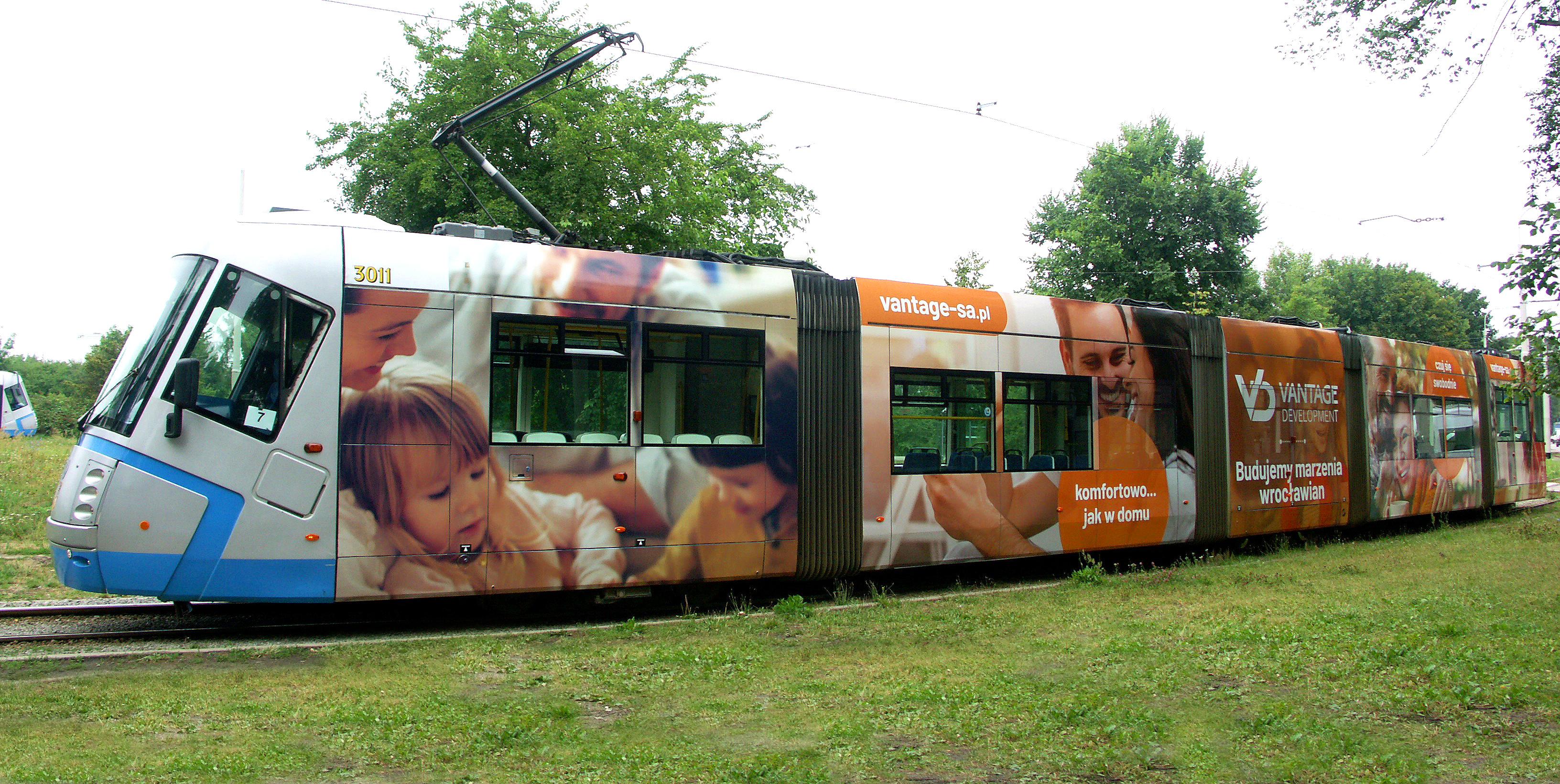 VANTAGE DEVELOPMENT Wrocław – nowe tramwaje