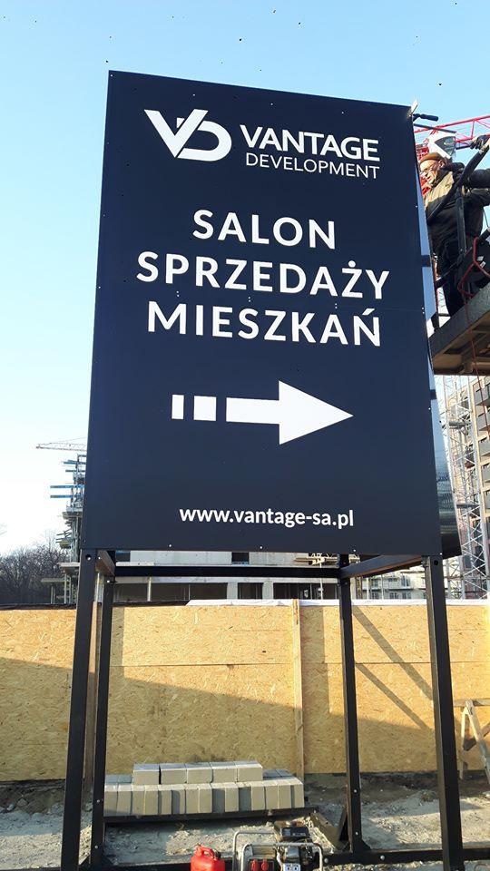 (Polski) Vantage Development – oznakowanie kierunkowe